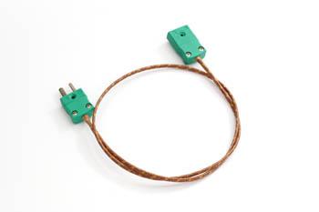 K型熱電対延長ケーブル 120cm